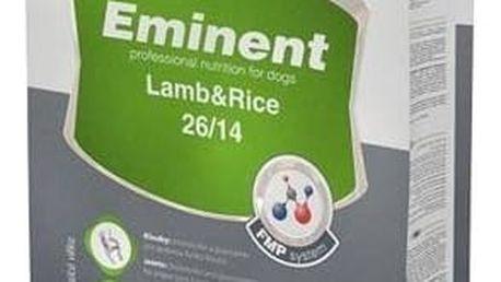 Granule Eminent Lamb&Rice 15 kg + 2 kg ZDARMA