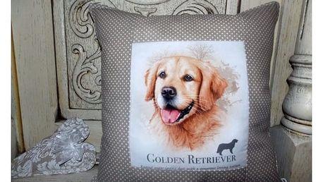 Dekorační polštářky Friendly Dogs!