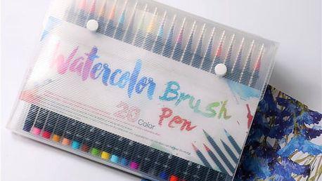 Akvarelové fixy - sada 20 kusů