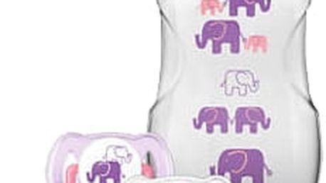 AVENT Sada Natural 1m+, 260 ml (PP) Slon – dívka