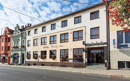 3–5denní pobyt s polopenzí a možností vířivky v hotelu Panský dům Blovice u Plzně pro 2