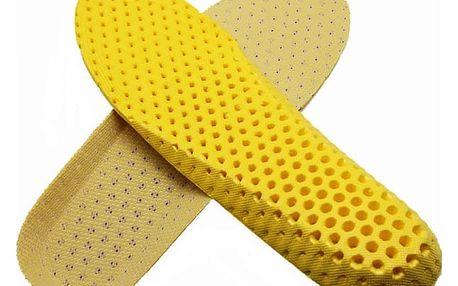 Pěnové vložky do bot pro pohodlnou chůzi - 1 pár