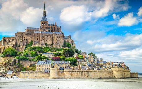Za krásami Normandie a Bretaně včetně snídaně