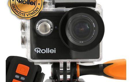 Rollei ActionCam 425 WiFi černá + náhradní baterie - 40298