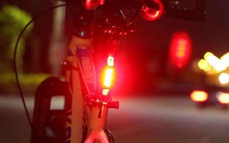 Přídavné zadní LED světlo na kolo - 3 barvy