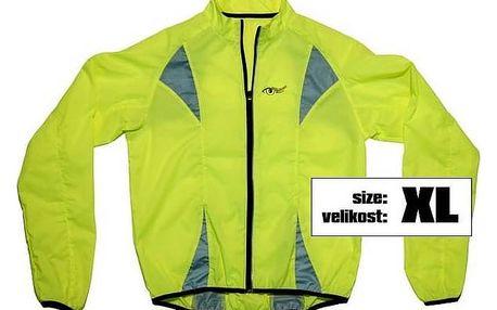 Reflexní bunda Compass žlutá vel. XL