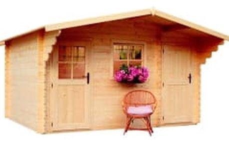 LANITPLAST ALEŠ 398 x 398 cm zahradní domek