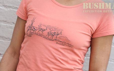 Dámské vzdušné tričko Bushman pro volný čas