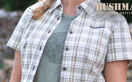 Dámské košile Bushman s krátkým rukávem