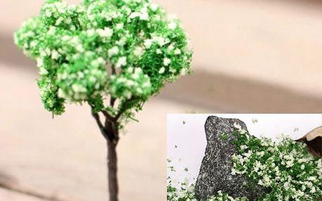 Materiál pro výrobu modelů stromů, trávy a dalších dekorací