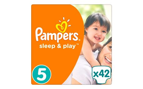 Pampers Sleep&Play 5 Junior, 42 ks (11-18 kg)