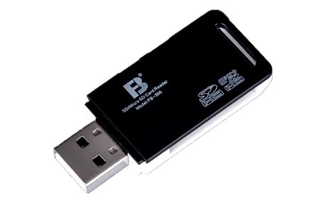 USB transmitter pro micro SD a SD karty