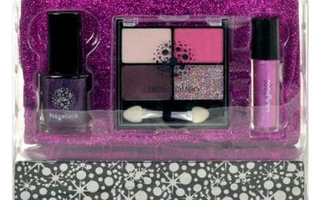 Makeup Trading Glitter Fuchsia dárková kazeta pro ženy Complete Makeup Palette
