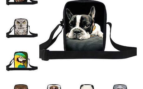 Moderní taška s motivy zvířat - mnoho druhů