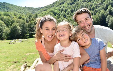 Rodinný pobyt v Jeseníkách