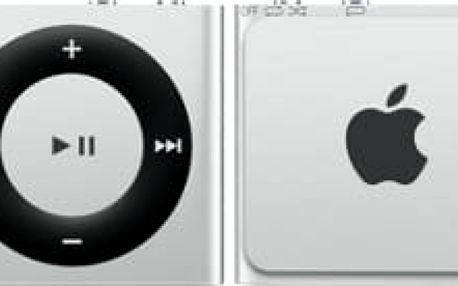 Apple iPod shuffle - 2GB, stříbrná, 4th gen. - MKMG2HC/A