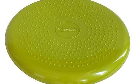 Balanční masážní polštářek Lifefit BALANCE CUSHION 33cm, zelená