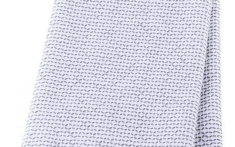 Kuchyňská bavlněná utěrka PLEAT, 40x60 cm, šedá, á TAB, 100% bavlna