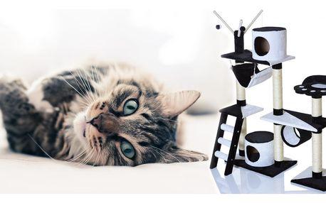 Šplhací a škrabací strom pro vaši kočku