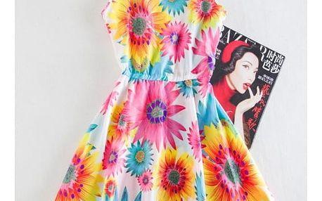 Šaty s originálními a veselými letními vzory - 19 vzorů