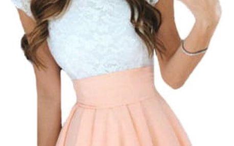 Dámské šaty s širokou sukní - 6 barev