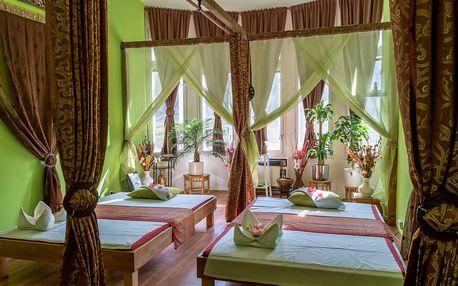 30-90min. thajská masáž tradiční, olejová, relaxační i párová