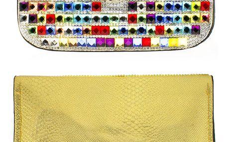 Fashion Icon Kabelka společenská velká s krystaly