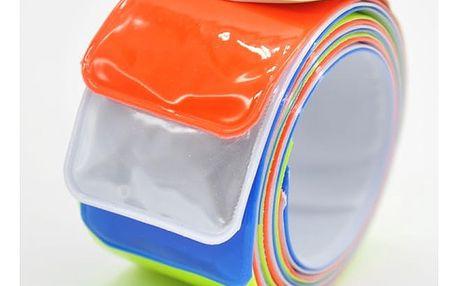 Sada barevných reflexních pásků - 4 kusy