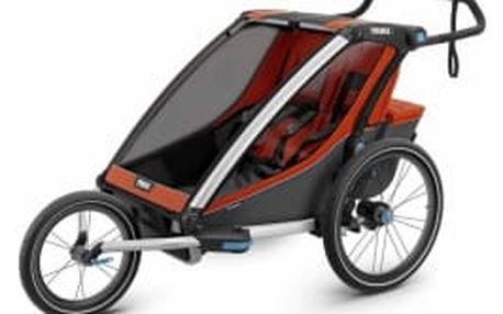 THULE Chariot Cross 2 Orange dětský vozík