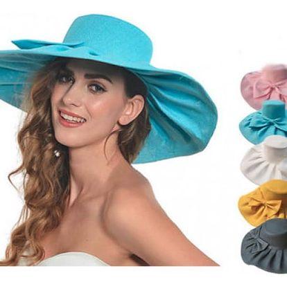 Lněný letní klobouk Kentucky Derby