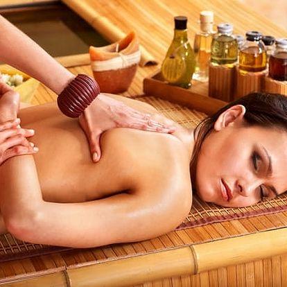 1-3x 60minutová masáž zad a šíje: na výběr z 10 druhů masáží