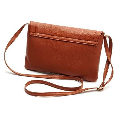 Mini kabelka přes rameno v koženém designu - mix barev