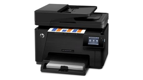 Tiskárna multifunkční HP M177fw (CZ165A#B19) černá A4, 16str./min, 4str./min, 600 x 600, 128 MB, WF, USB