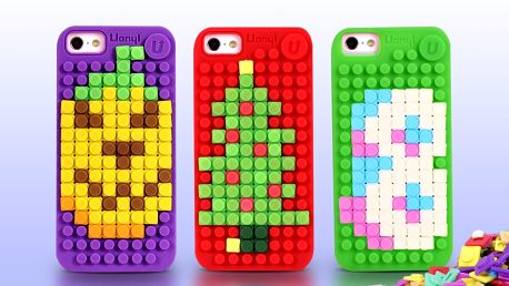Poskládejte si kryt na mobil z barevných pixelů