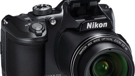 Nikon Coolpix B500, černá - VNA951E1 + Batoh Alpine Pro Nexca v ceně 750 Kč