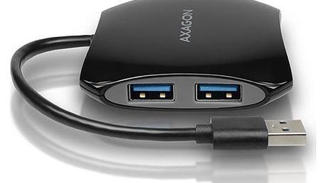AXAGON 4x USB3.0 QUATTRO hub, 16cm kabel - HUE-S1B