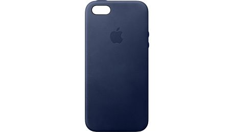 Apple iPhone SE Leather Case, Midnight Blue - MMHG2ZM/A