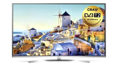 Televize LG 55UH8507 stříbrná