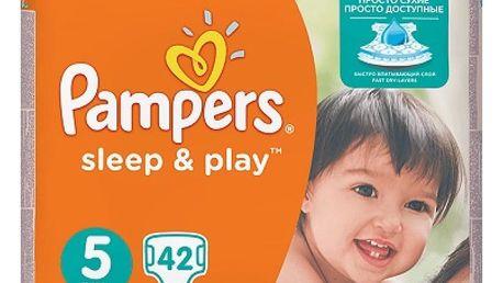 PAMPERS Sleep&Play 5 JUNIOR 11-18 kg 42 kusů