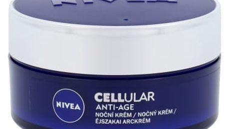 Nivea CELLular Anti-Age 50 ml noční pleťový krém proti vráskám pro ženy
