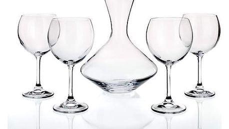 Banquet Crystal 5dílný set na víno