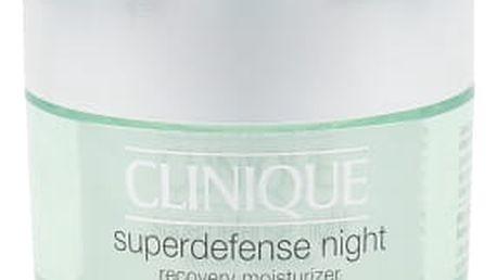 Clinique Superdefense 50 ml noční pleťový krém proti vráskám pro ženy