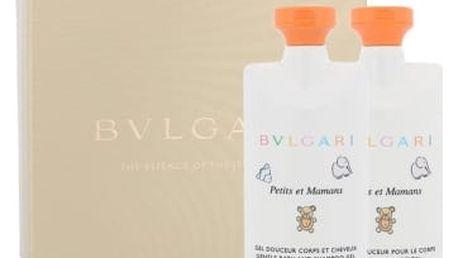 Bvlgari Petits et Mamans dárková kazeta unisex tělové mléko 75 ml + sprchový gel 75 ml