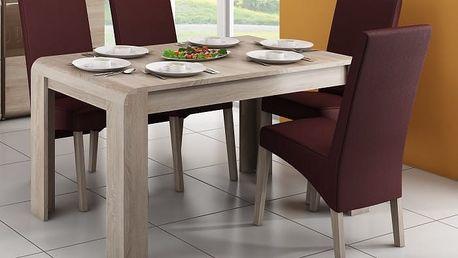 Link - Jídelní stůl (dub sonoma)