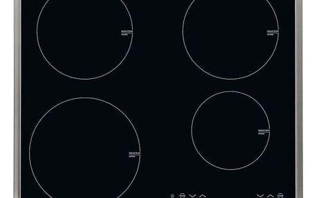 Indukční varná deska AEG HK634200XB černá/sklo