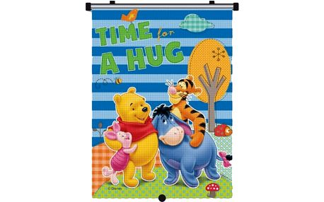 MARKAS Stínítko na okno auta stahující 1 ks Winnie the Pooh