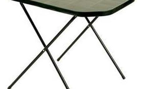 Stůl Rojaplast 53x70 camping zelený