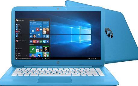 HP Stream 14 (14-ax001nc), modrá - X9W71EA