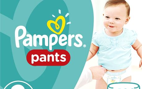 Pampers Plenkové kalhotky ActivePants 3 Midi Mega Box 120 ks