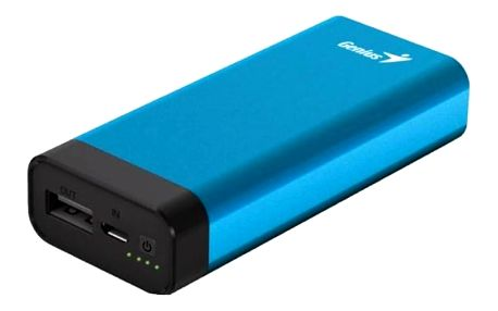 Power Bank Genius ECO-u527 5200mAh (39800014102) modrá